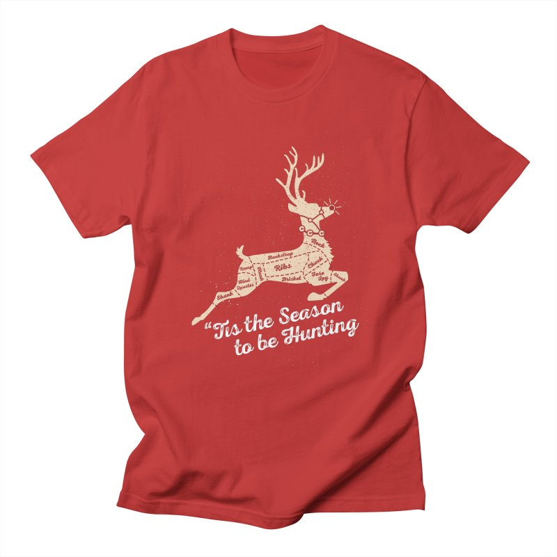 Deer Season Men's Regular T-Shirt by inkmark outpost