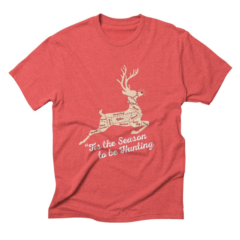 Deer Season Men's Triblend T-Shirt by inkmark outpost