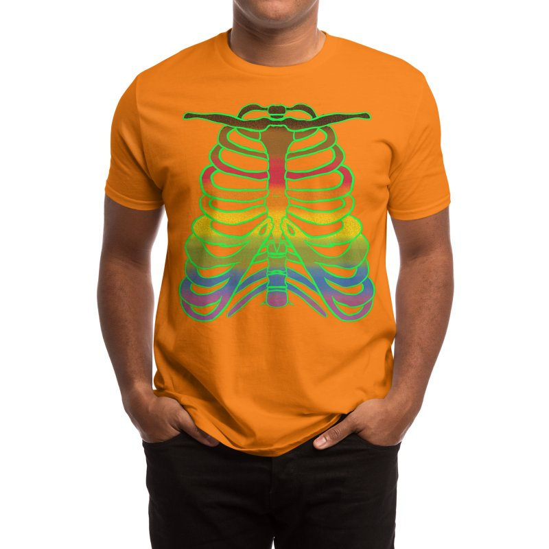 Proud to the bone (rainbow) Men's T-Shirt by inkybmo's merch-porium!
