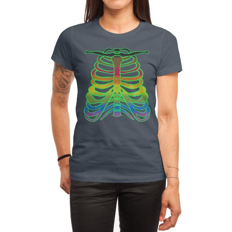 Proud to the bone (rainbow) Women's T-Shirt by inkybmo's merch-porium!