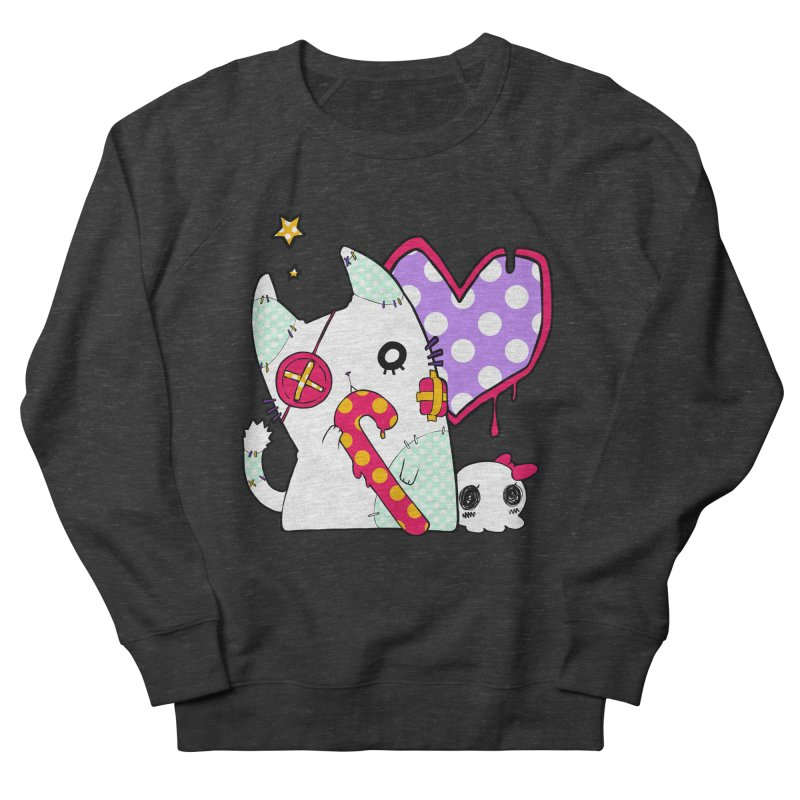 Ghost Cat (Color) Women's Sweatshirt by Inma's store