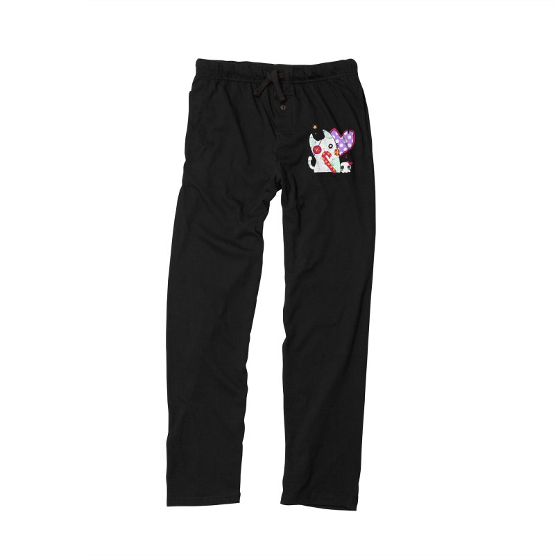 Ghost Cat (Color) Women's Lounge Pants by Inma's store