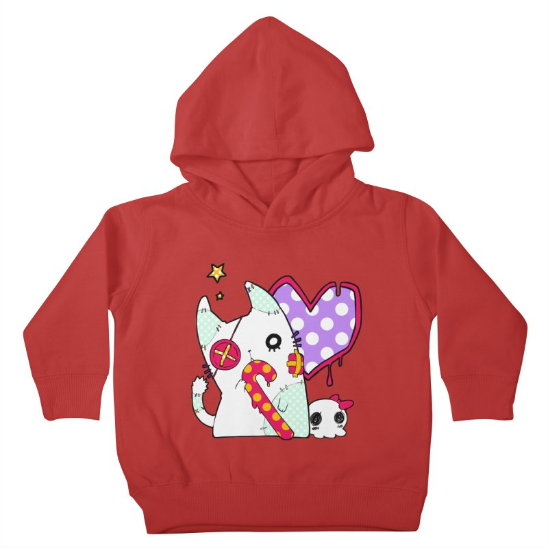 Ghost Cat (Color) Kids Toddler Pullover Hoody by Inma's store