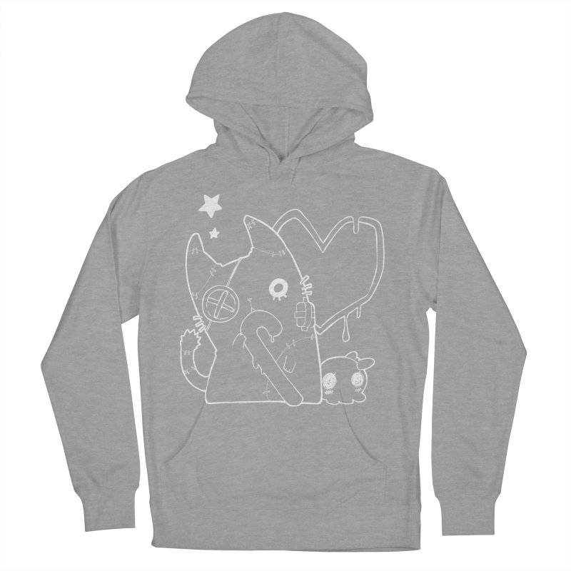 Ghost Cat (White) Women's Pullover Hoody by Inma's store