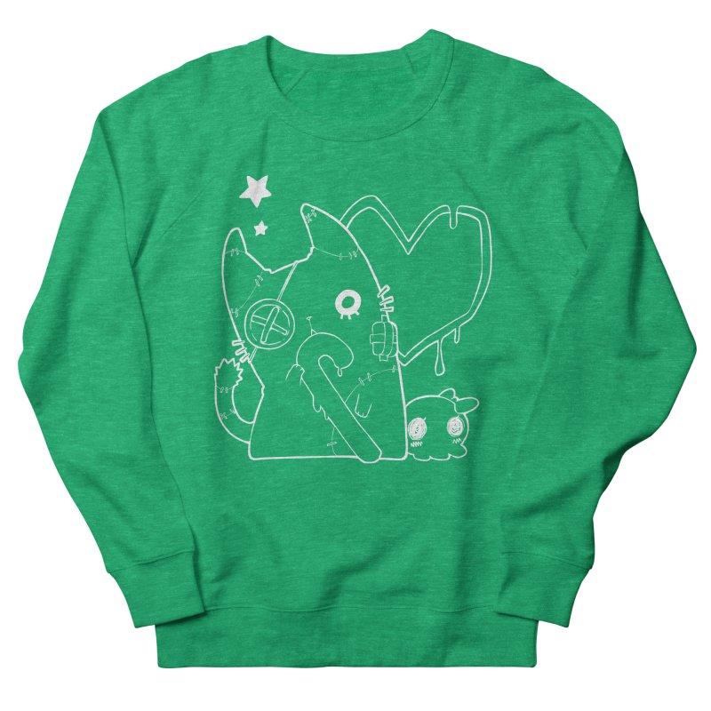 Ghost Cat (White) Women's Sweatshirt by Inma's store