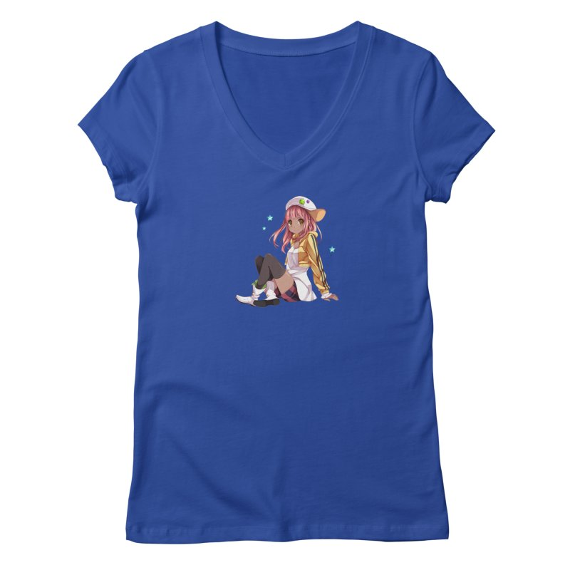 Sweet girl Women's V-Neck by Inma's store