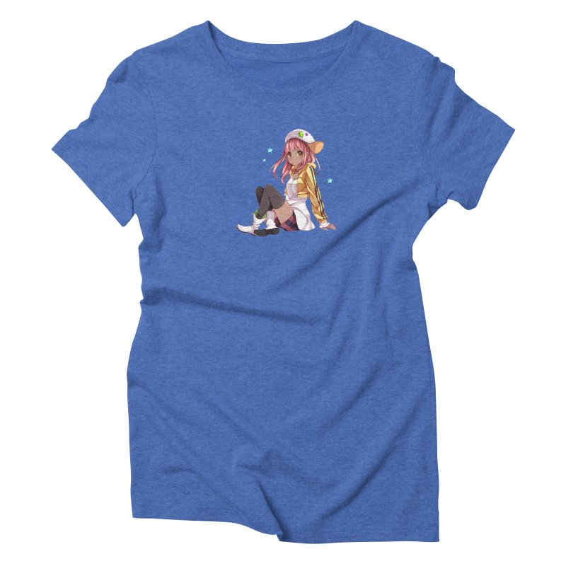 Sweet girl Women's Triblend T-Shirt by Inma's store