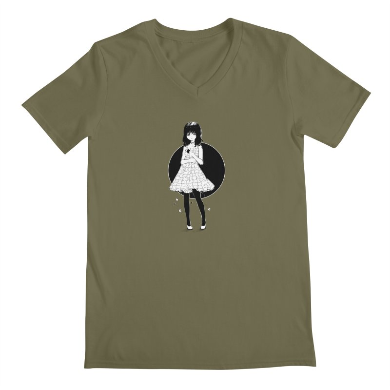 Puzzle girl Men's V-Neck by Inma's store