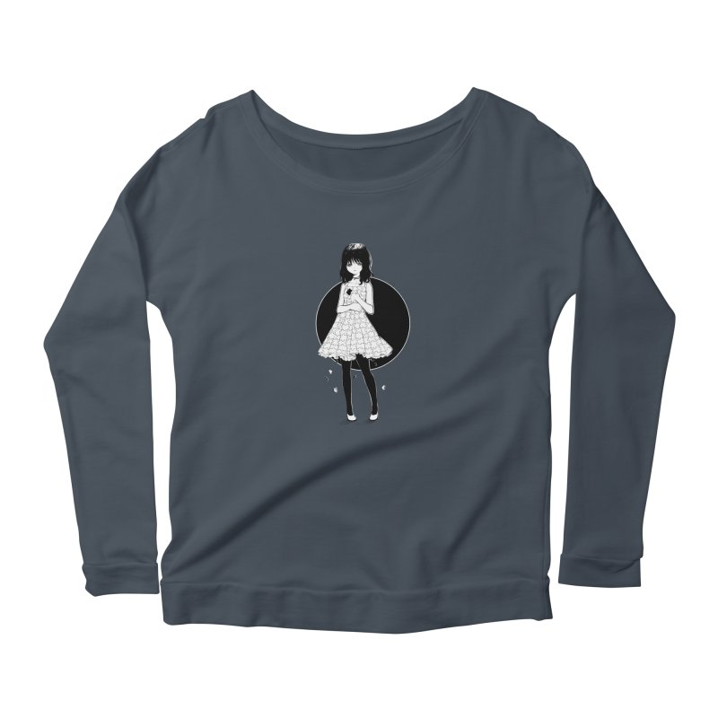 Puzzle girl Women's Longsleeve Scoopneck  by Inma's store