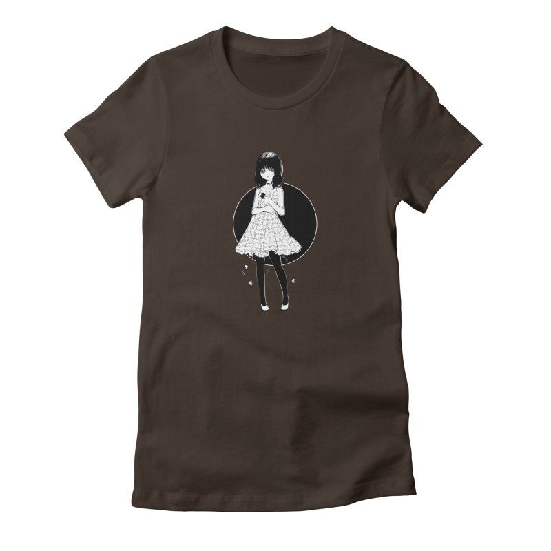 Puzzle girl Women's Fitted T-Shirt by Inma's store