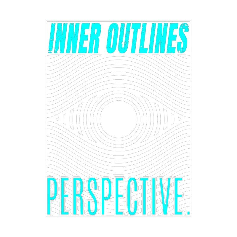 Perspective Eye Men's Longsleeve T-Shirt by Inner Outlines Artist Shop
