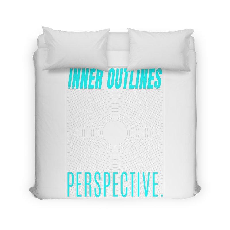 Perspective Eye Home Duvet by Inner Outlines Artist Shop