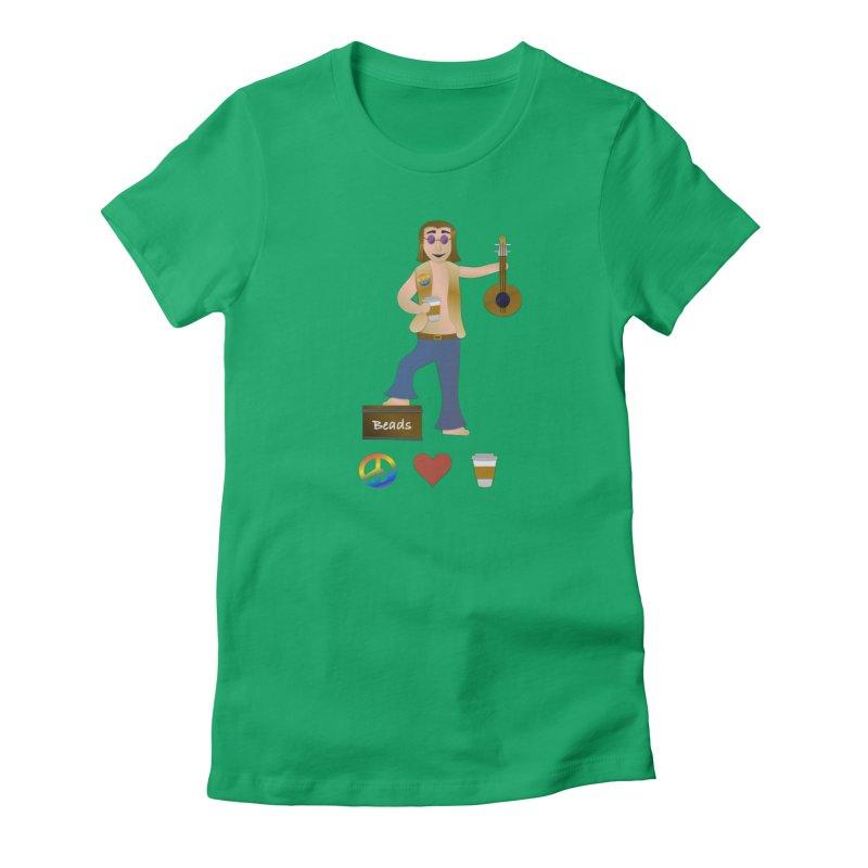 Peace, Love, Coffee Women's T-Shirt by innovativehistory's Artist Shop
