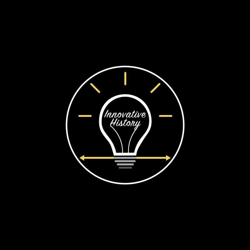 Innovative History Lightbulb Logo by innovativehistory's Artist Shop