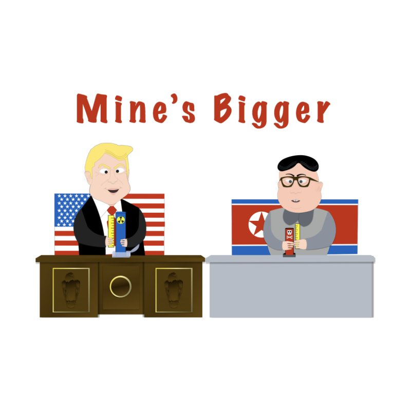 Mine's Bigger by innovativehistory's Artist Shop