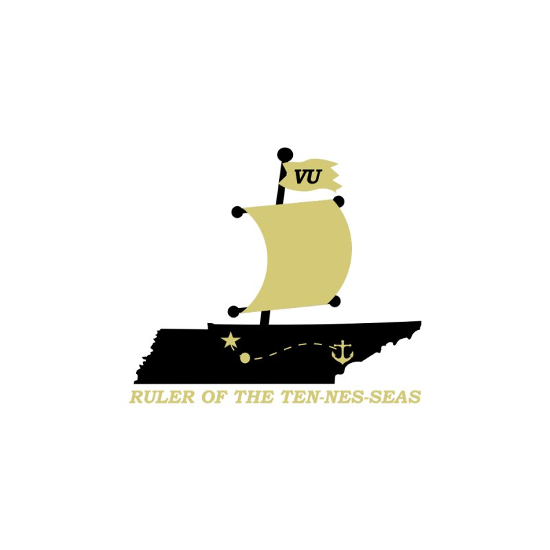 VU - Ruler of the Ten-nes-seas (Italics) by innovativehistory's Artist Shop