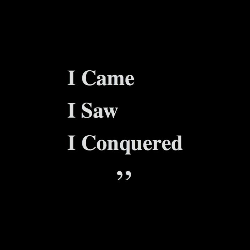 I Came, I Saw, I Conquered by innovativehistory's Artist Shop