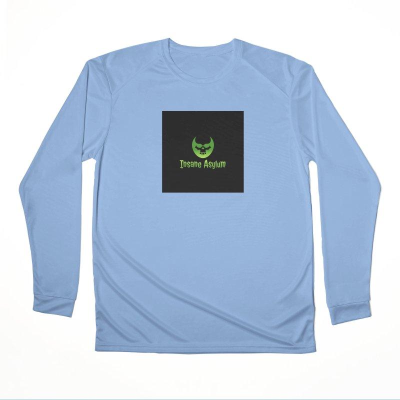 Insane Green Women's Longsleeve T-Shirt by insaneasylumpodcast's Artist Shop