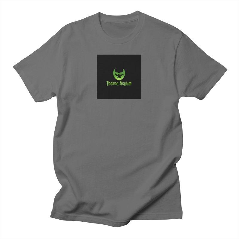 Insane Green Men's T-Shirt by insaneasylumpodcast's Artist Shop