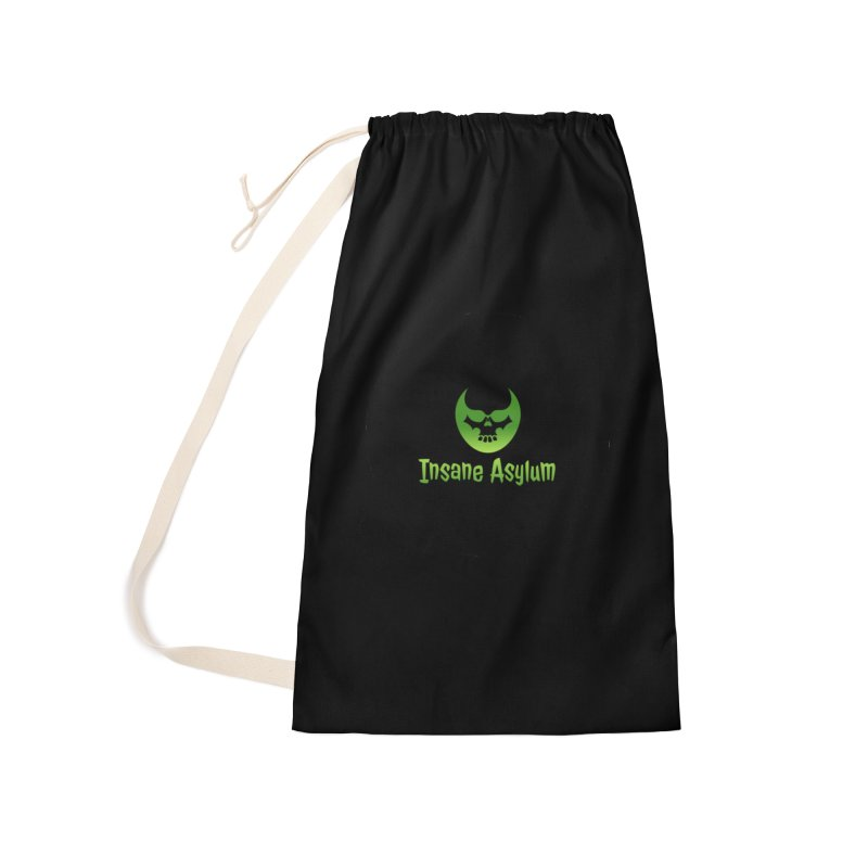 Insane Green Accessories Bag by insaneasylumpodcast's Artist Shop