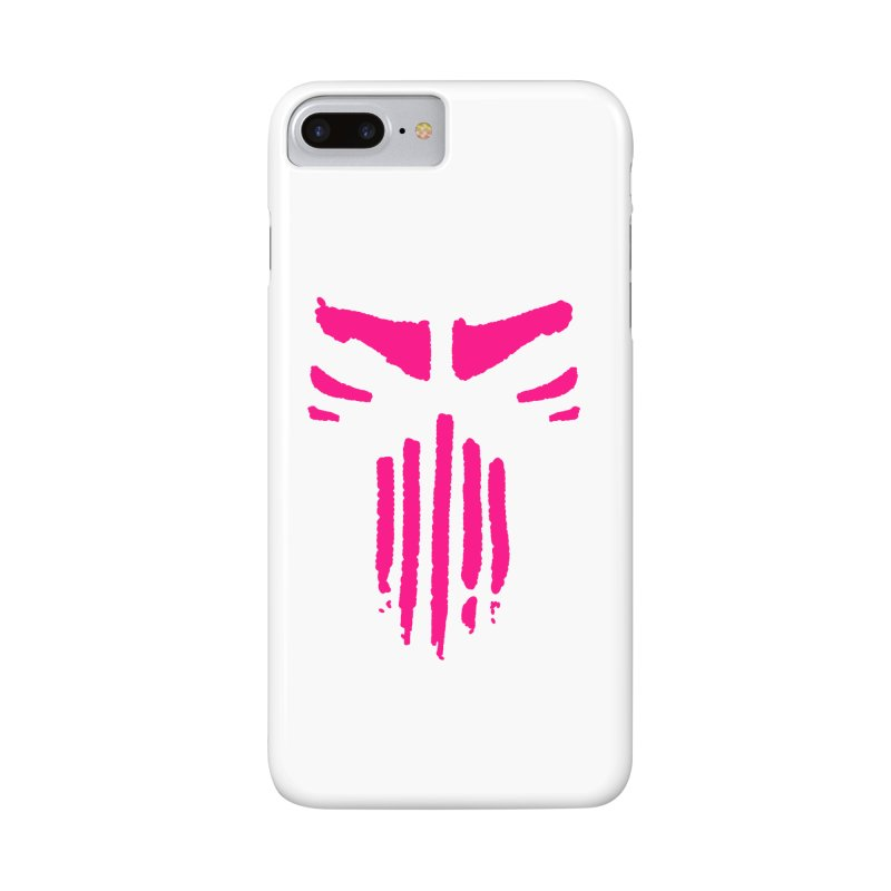 The ODD Lot - Pink Mask in iPhone 7 Plus Phone Case Slim by Insane Comics' Shop