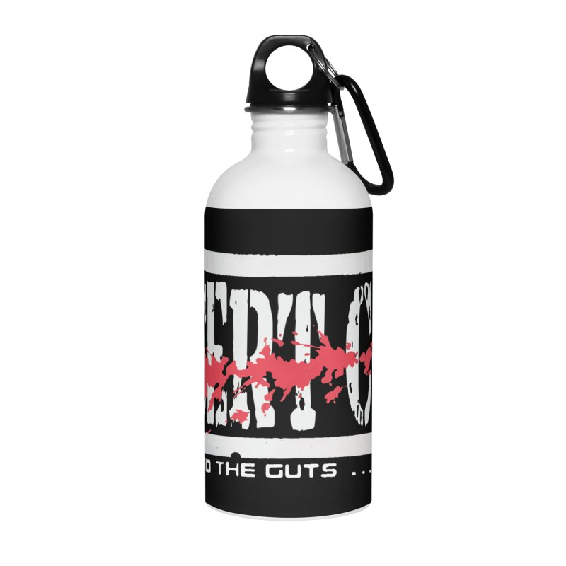 Insert NARC Accessories Water Bottle by Insert Coin's Shop Of 90s Arcade Awesomeness