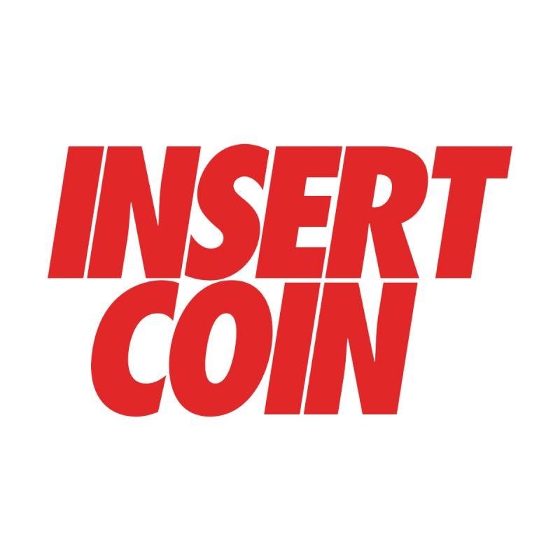 INSERT COIN RED LOGO