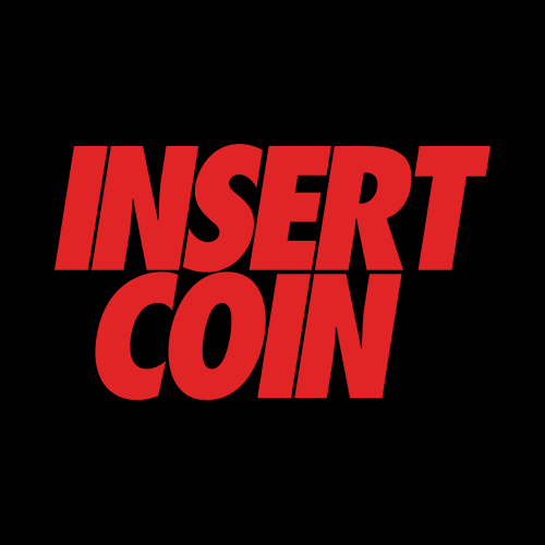 Insert Coin's Shop Of 90s Arcade Awesomeness Logo