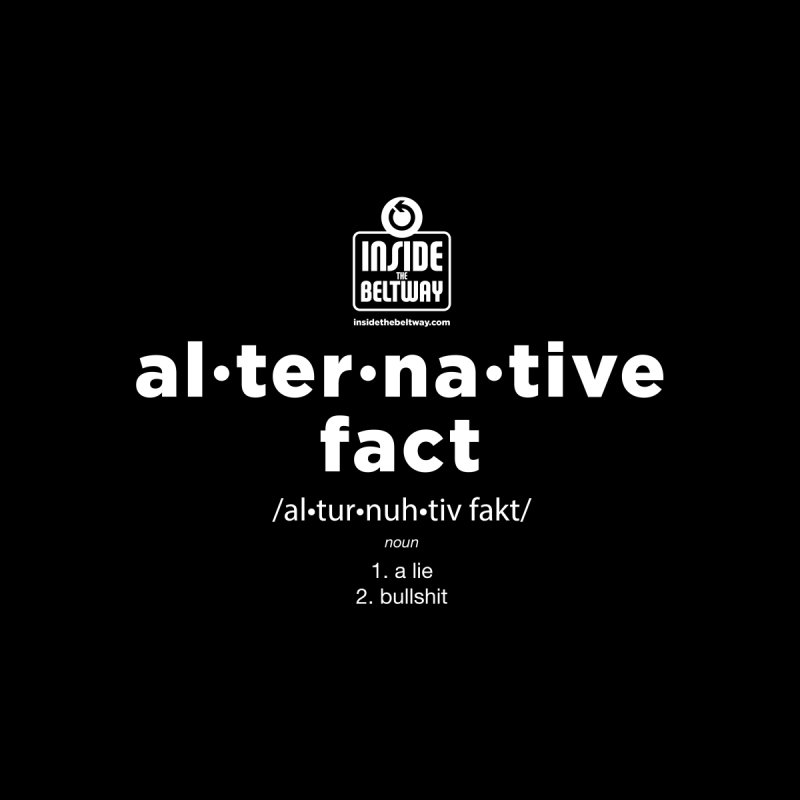Alternative Fact by Inside The Beltway Store
