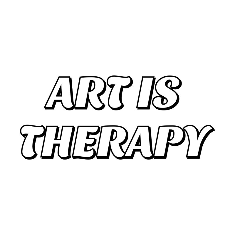 Art is therapy Men's T-Shirt by Inspire Me Artist Shop