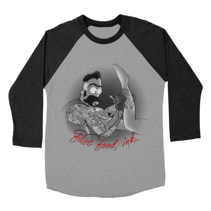 HOMER BUTCHER Men's Baseball Triblend T-Shirt by Emerson Rauth