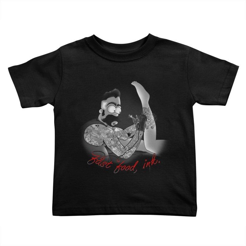 HOMER BUTCHER Kids Toddler T-Shirt by Emerson Rauth