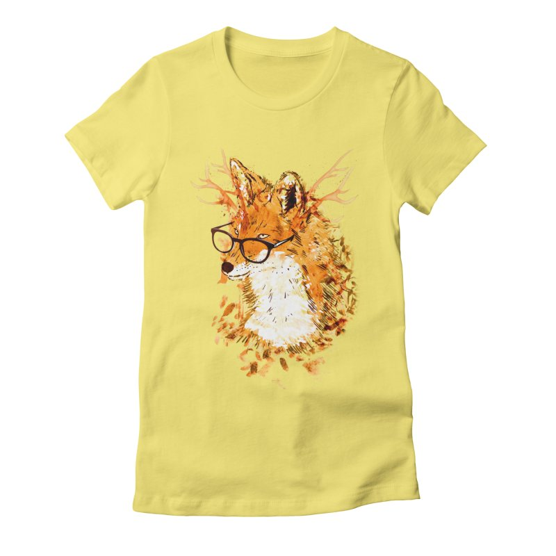 Wild Spirit Women's Fitted T-Shirt by Emerson Rauth