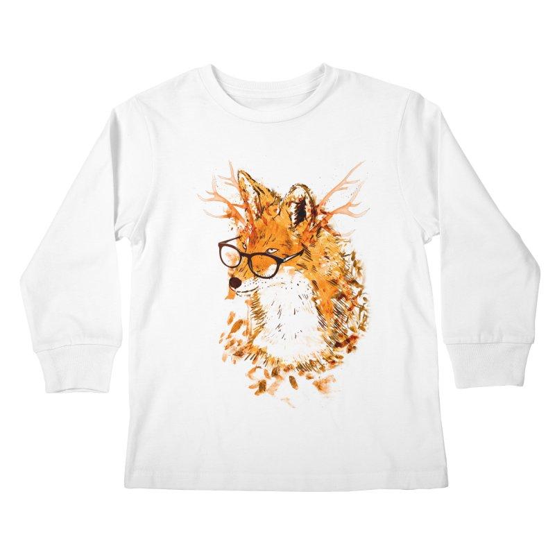Wild Spirit Kids Longsleeve T-Shirt by Emerson Rauth