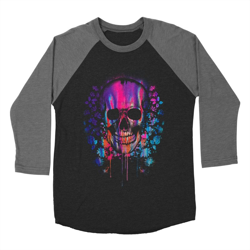 SKULL COLORS‏ Women's Baseball Triblend T-Shirt by Emerson Rauth