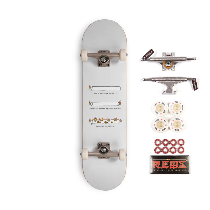 Burning That Candle. Accessories Complete - Pro Skateboard by Prinstachaaz