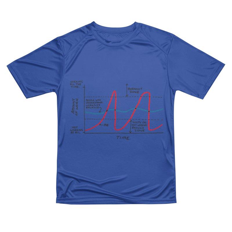 Work/Life Balance Women's Performance Unisex T-Shirt by Prinstachaaz