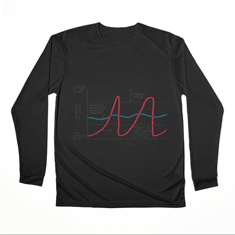 Work/Life Balance Men's Performance Longsleeve T-Shirt by Prinstachaaz