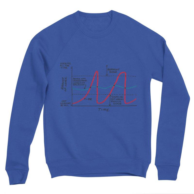 Work/Life Balance Women's Sponge Fleece Sweatshirt by Prinstachaaz