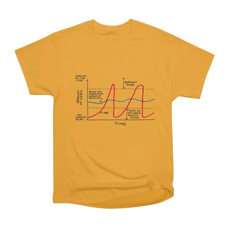 Work/Life Balance Women's Heavyweight Unisex T-Shirt by Prinstachaaz
