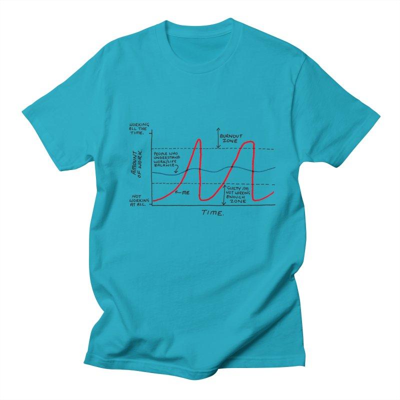 Work/Life Balance Women's Regular Unisex T-Shirt by Prinstachaaz
