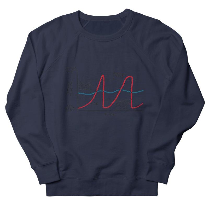 Work/Life Balance Men's French Terry Sweatshirt by Prinstachaaz