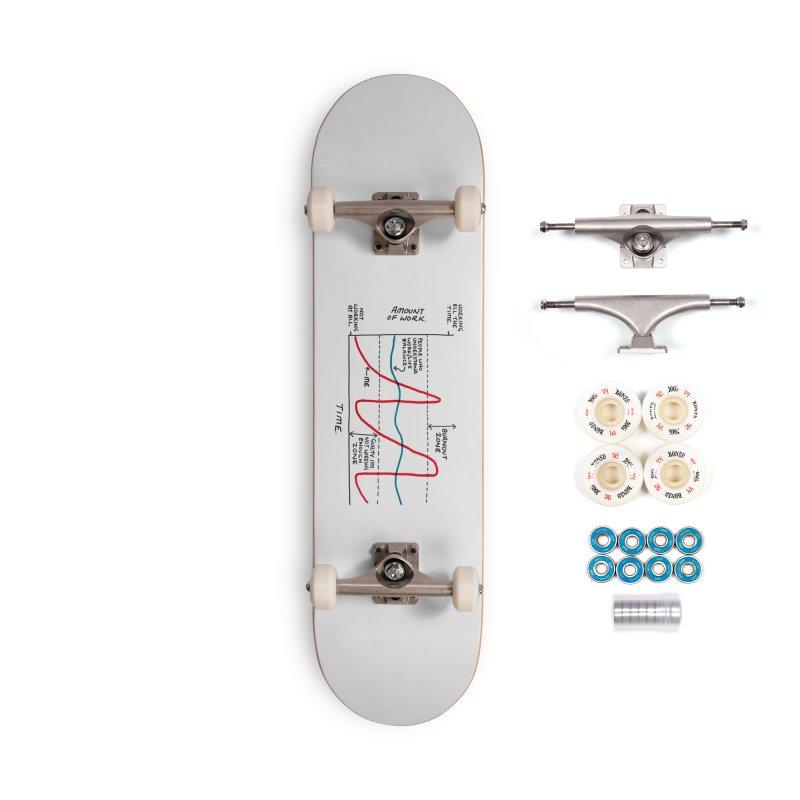 Work/Life Balance Accessories Complete - Premium Skateboard by Prinstachaaz