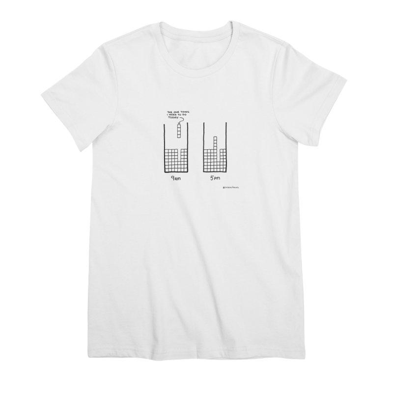 Close Enough. Women's Premium T-Shirt by Prinstachaaz