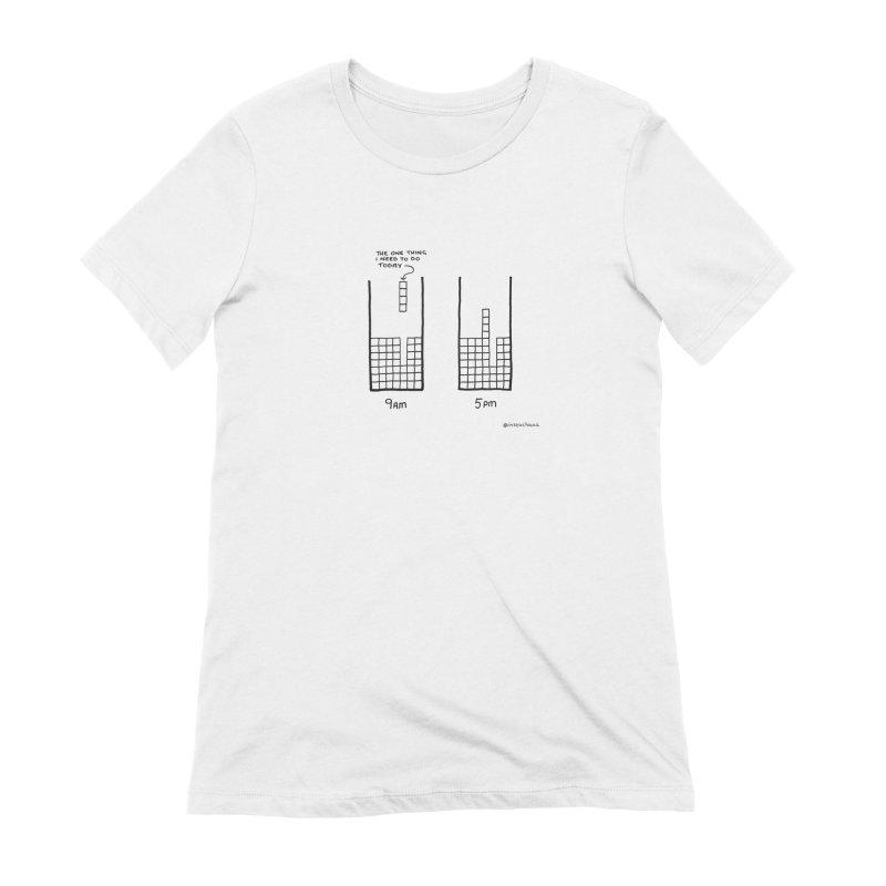 Close Enough. Women's Extra Soft T-Shirt by Prinstachaaz