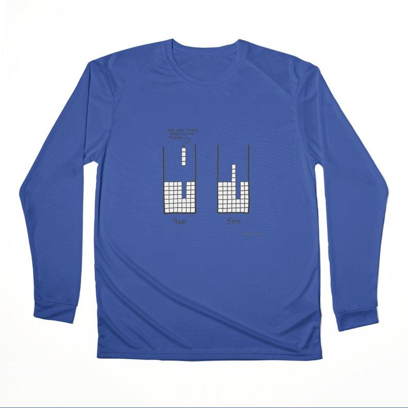 Close Enough. Men's Performance Longsleeve T-Shirt by Prinstachaaz