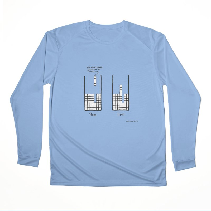 Close Enough. Men's Performance Longsleeve T-Shirt by Prinstachaaz