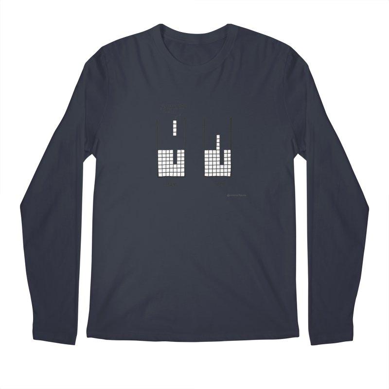 Close Enough. Men's Regular Longsleeve T-Shirt by Prinstachaaz