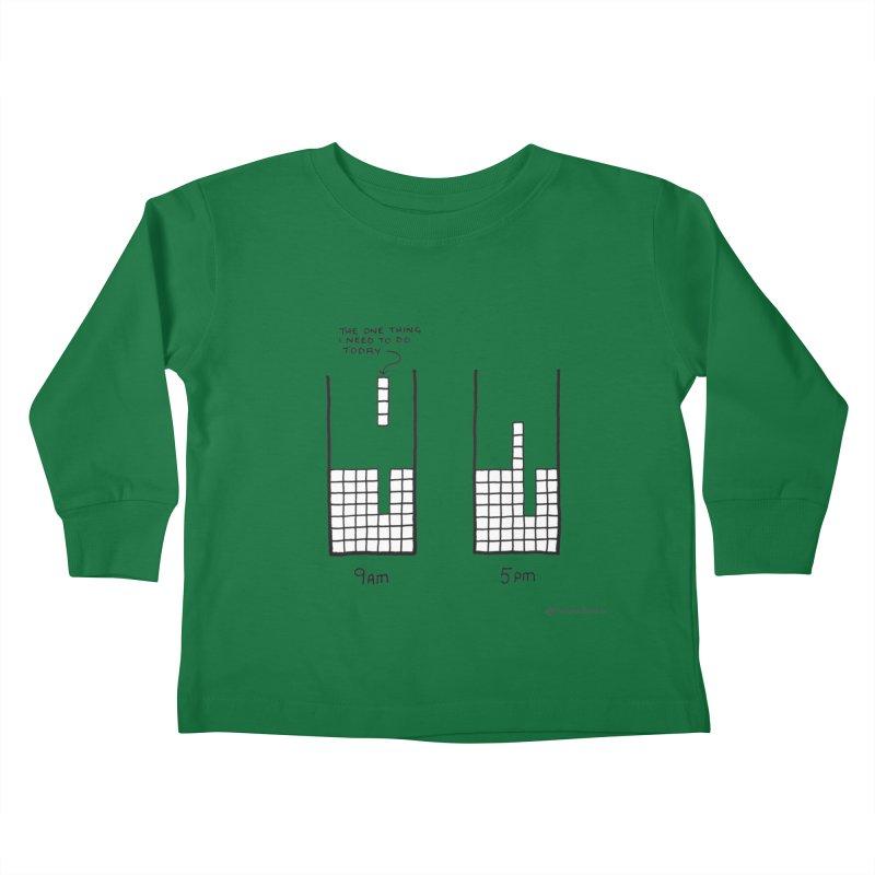Close Enough. Kids Toddler Longsleeve T-Shirt by Prinstachaaz