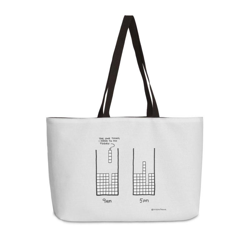 Close Enough. Accessories Weekender Bag Bag by Prinstachaaz